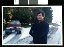 Image of David Hole, Albury farmer - Timaru Herald Photographs, Personalities Collection