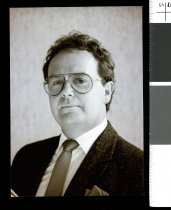 Image of Timaru Public Relations Office's Stuart Holland  - Timaru Herald Photographs, Personalities Collection
