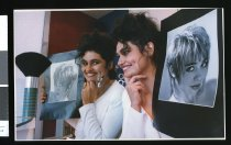 Image of Leah Holmes, hairdresser - Timaru Herald Photographs, Personalities Collection