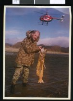 Image of Graeme Hughes, fish and game officer - Timaru Herald Photographs, Personalities Collection