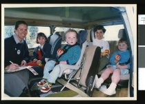Image of Child car seat safety checks - Timaru Herald Photographs, Personalities Collection