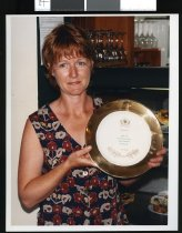 Image of Robyn Irvine, Plums Cafe, Geraldine - Timaru Herald Photographs, Personalities Collection