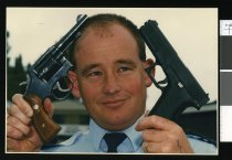 Image of Constable Gary Ivamy - Timaru Herald Photographs, Personalities Collection