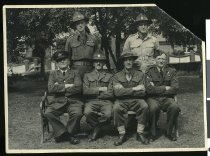 Image of Cadet instructors of Timaru Technical College, circa 1952 -