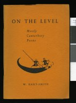 Image of On the level : mostly Canterbury poems - Hart-Smithy, W