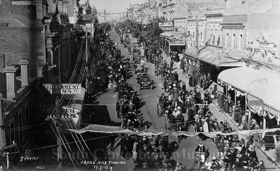 [Ferrier 1048] Peace Day Timaru 19.7.1919 - South Canterbury Museum