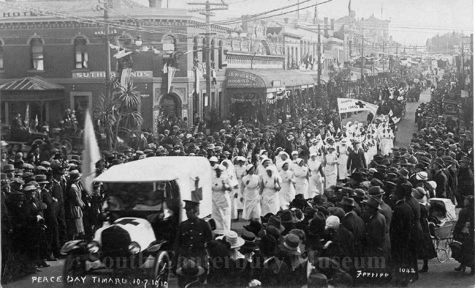 Peace Day Timaru 19.7.1919 [Ferrier 1042] - South Canterbury Museum