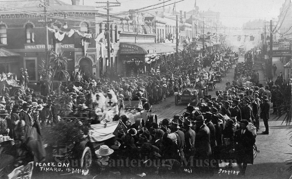 Peace Day, Timaru 19.7.1919 [1041 Ferrier] - South Canterbury Museum