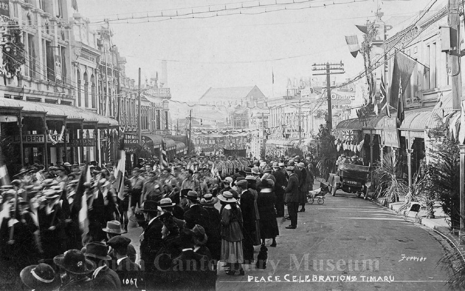 Peace Celebrations Timaru [Ferrier 1067] - South Canterbury Museum