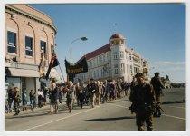 Image of [Fiftieth Anniversary VJ Parade, Stafford Street Timaru] -