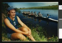 Image of Jenny Jackson, rower - Timaru Herald Photographs, Personalities Collection