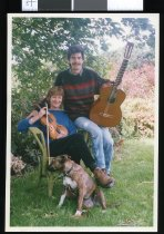 Image of Margaret and Miles Jackson, musicians - Timaru Herald Photographs, Personalities Collection