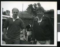 Image of Raymond Powell and Donald Jamieson - Timaru Herald Photographs, Personalities Collection