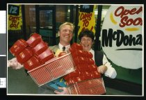 Image of McDonald's Peter and Lynne Johnson - Timaru Herald Photographs, Personalities Collection