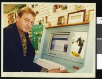 Image of Ian Johnston - Timaru Herald Photographs, Personalities Collection