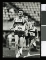 Image of Robbie Johnston, runner - Timaru Herald Photographs, Personalities Collection