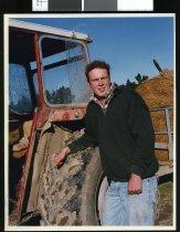Image of Leighton Jones, farm cadet - Timaru Herald Photographs, Personalities Collection