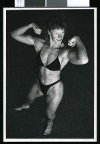 Image of Bodybuilder Lynn Jones - Timaru Herald Photographs, Personalities Collection