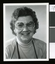 Image of Marge Jones, Fairlie correspondent - Timaru Herald Photographs, Personalities Collection
