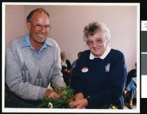 Image of Jim Kane and Rona Thomson - Timaru Herald Photographs, Personalities Collection