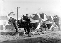 Image of [Float, Timaru coronation parade, 1911] -