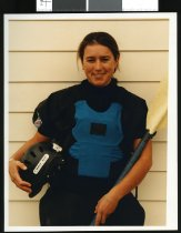 Image of World rafting champion Nikki Kelly - Timaru Herald Photographs, Personalities Collection