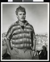 Image of Gavin King, farmer - Timaru Herald Photographs, Personalities Collection