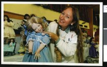 Image of Dollmaker Robyn King  - Timaru Herald Photographs, Personalities Collection