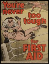 Image of You're never too tough for first aid