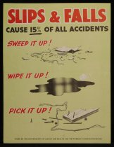 Image of Slips and falls cause 15% of all accidents