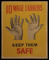 Image of 10 wage earners ...keep them safe