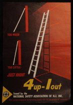 Image of 4up-1out [National Safety Association of NZ safety poster] -