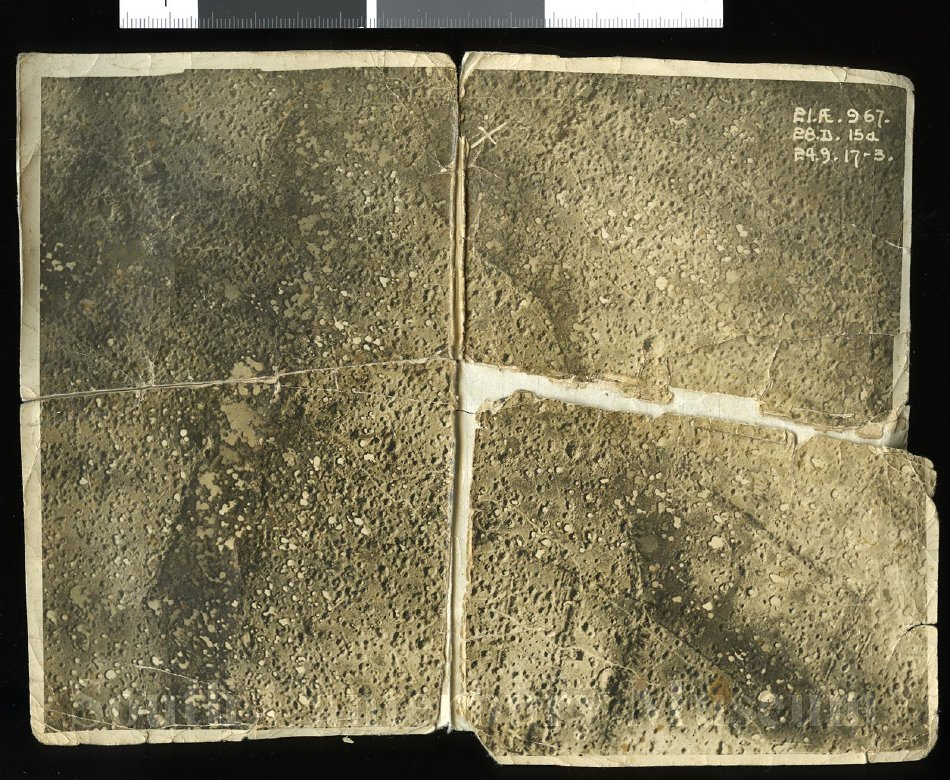 Aerial photograph of Passchendaele, circa 1917 - South Canterbury Museum