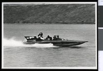 Image of Peter Knight, power boat racing - Timaru Herald Photographs, Personalities Collection