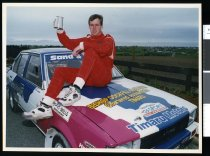 Image of Mark Ladbrook, racing driver - Timaru Herald Photographs, Personalities Collection