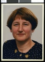 Image of Jeanette Lagocki, ANZ bank - Timaru Herald Photographs, Personalities Collection
