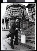Image of David Lange - Timaru Herald Photographs, Personalities Collection