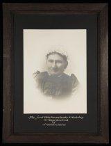 Image of Mrs Major Hornbrook of Arowhenua Station - Burnett Collection