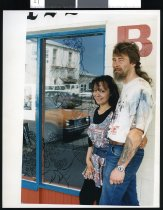 Image of Christine Hastie and Karl Lefeber - Timaru Herald Photographs, Personalities Collection