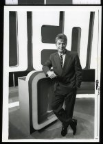 Image of TVNZ presenter Mark Leishman - Timaru Herald Photographs, Personalities Collection