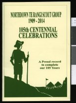 Image of Northdown Te Rangi Scout Group 1909-2014: 105th centennial celebrations -