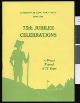 Image of Northdown Te Rangi Scout Group : 75th jubilee celebrations, 1909-1984 -