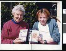 Image of Noeline Cottam and Trudy Mulligan - Timaru Herald Photographs, Personalities Collection