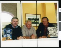 Image of Les Maxwell, Les Worner, and Tim Hausler - Timaru Herald Photographs, Personalities Collection