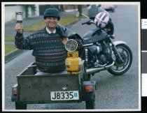 Image of Brass Monkey president Michael Leslie - Timaru Herald Photographs, Personalities Collection