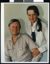 Image of John Lester and wife Barbara Stanley-Hunt - Timaru Herald Photographs, Personalities Collection