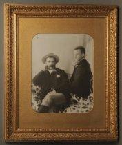 Image of Donald and Thomas David Burnett - Burnett Collection