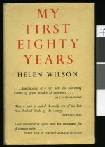 Image of My first eighty years - Wilson, Helen, 1869-1957.