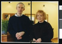 Image of Ross Ashley and Karyn Renwick, hairdressers - Timaru Herald Photographs, Personalities Collection