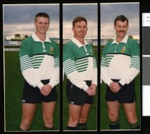 Image of Rugby referees - Timaru Herald Photographs, Personalities Collection